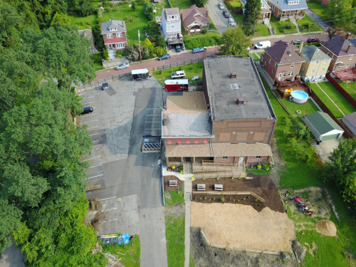 Aerial View of the Event Venue